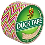 Duck Brand 280978 Zig Zags Printed Duct Tape, 1.88-Inch by 10 Yards, Single Roll