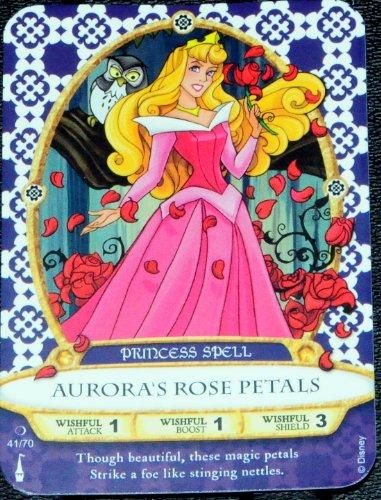 Sorcerers Mask of the Magic Kingdom Game, Walt Disney World - Card #41 - Aurora's Rose Petals - 1
