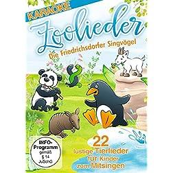 Zoolieder - 22 lustige Tierlieder für Kinder zum Mitsingen