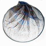 硬形態 チタン 直径 80cm ワンピース チタン 玉枠 + PE10号手編み タモ網 2点セット ( チタンシステム 80cm タモ枠 4番色 )