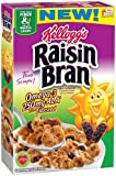 Kelloggs Cereal, Raisin Bran Omega-3 with Flaxseed, 14.3 Ounce (Pack of 14)