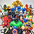 Dc Marvel Action Toy Figures 32pcs/lot Building Blocks the Avengers Justice League Guardians of the Galaxy Fantastic Four