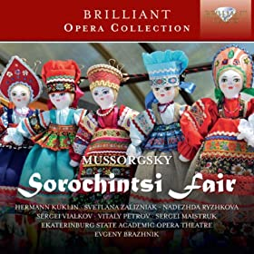Sorochintsi Fair, Act 1: The Fair Scene