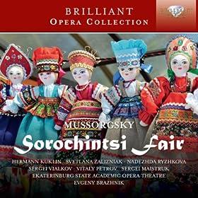 Sorochintsi Fair, Act 1: The Fair Scene