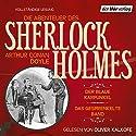 Der blaue Karfunkel / Das gesprenkelte Band (Die Abenteuer des Sherlock Holmes) Hörbuch von Arthur Conan Doyle Gesprochen von: Oliver Kalkofe
