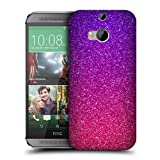 Head Case Designs Ombre Glitter Trend Mix Protective Snap-on Hard Back Case Cover for HTC One M8