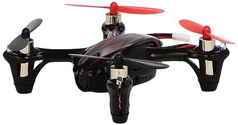 HUBSAN H107C Mini Drone avec caméra 720p Rouge/Blanc