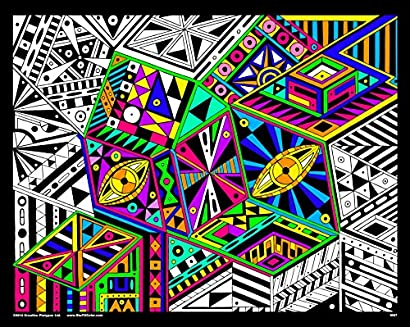 View From The Top - 16x20 Fuzzy Velvet Coloring Poster - Dkbzvbis-95