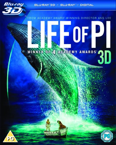 Life of Pi 3d [Blu-ray] [Import]