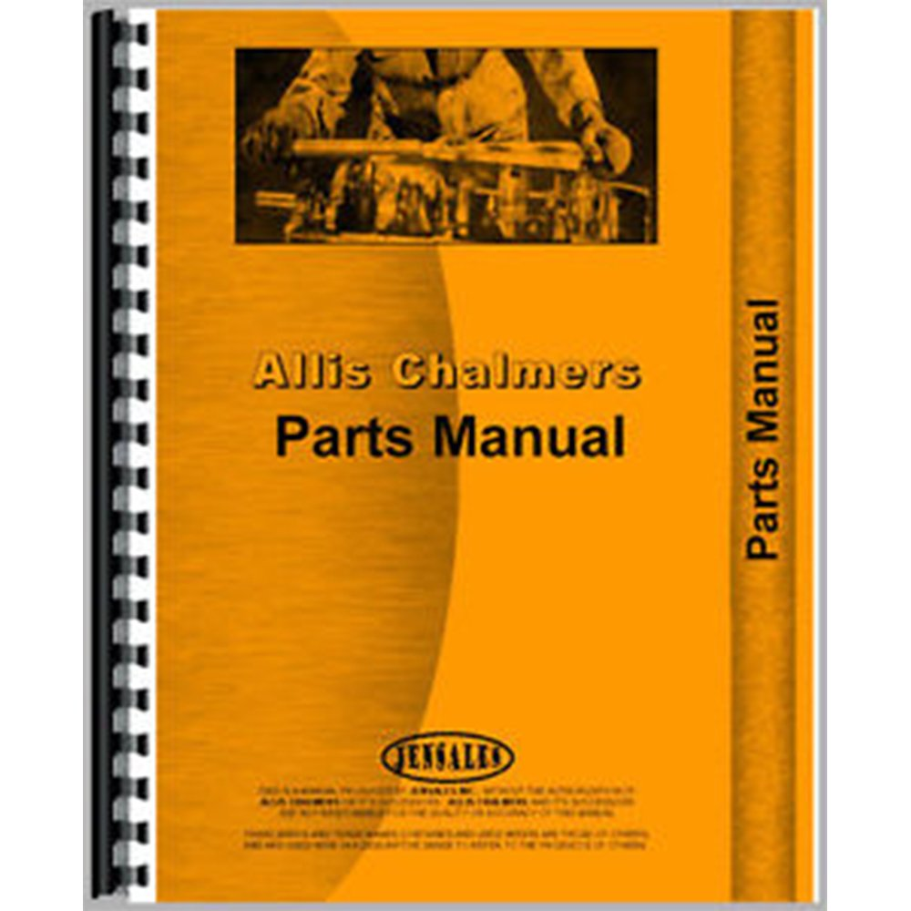 New Allis Chalmers UC Tractor Engine Parts Manual (AC-P-UC W/CONT) jiangdong engine parts for tractor the set of fuel pump repair kit for engine jd495
