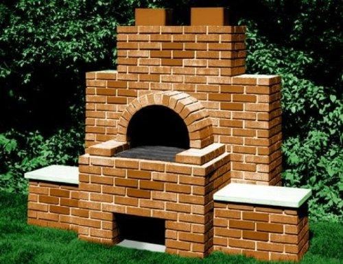 Brick BBQ Construction Plan