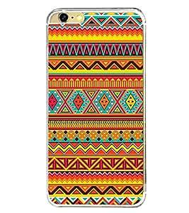 Multi Colour Pattern 2D Hard Polycarbonate Designer Back Case Cover for Apple iPhone 6 Plus :: Apple iPhone 6+
