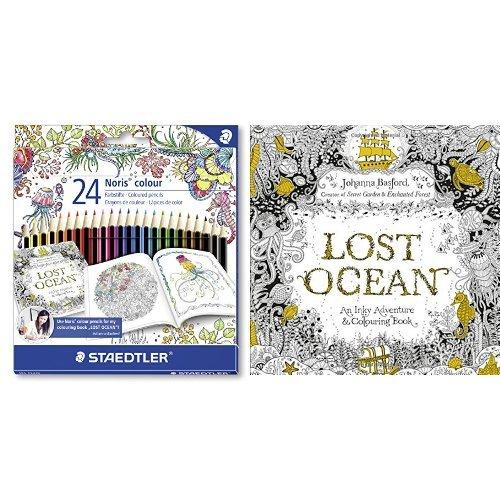 lost-ocean-colouring-book-and-noris-colour-coloured-pencil-bundle