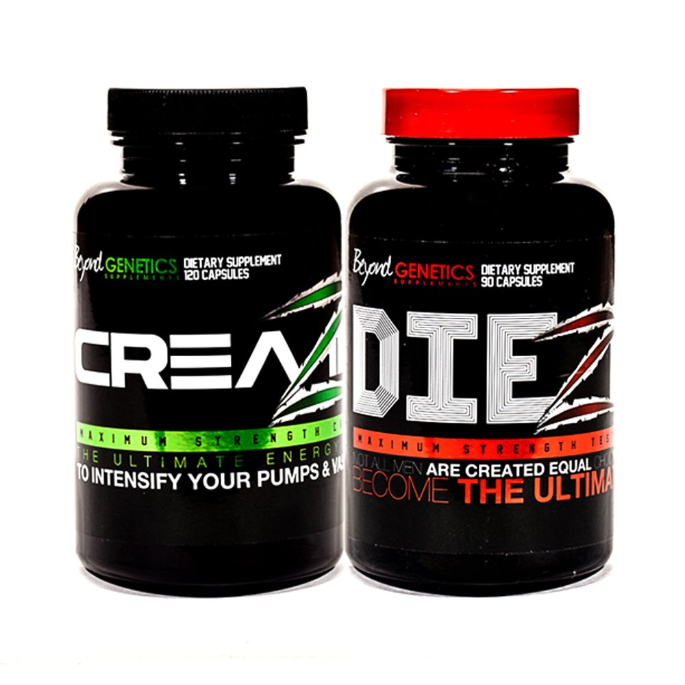 Can You Take Creatine and Testosterone Booster Together ? Creatine and Testosterone Boosting Pills Max Hardcore Stack DIEZEL + CREAZINE