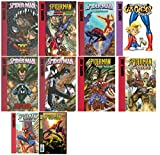 img - for Set of 10 Marvel Age Spider-man Hard Back Books - Library Binding book / textbook / text book