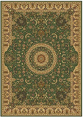 Stunning Green Silk Rug Persian Area Rugs 8x12 Silk Rug 6x8 Traditional Rug Multi-size Living Room Carpet
