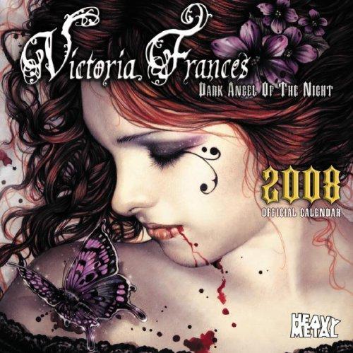 Victoria Frances Dark Angel of the Night  2008 Calendar