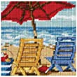 Dimensions Needlecrafts Needlepoint, Beach Chair Duo