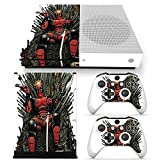 GoldenDeal Xbox One S Console and Wireless Controller Skin Set - USA Flag US AirForce - XboxOne S Vinyl