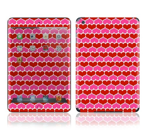 #1  Apple iPad Mini Decal Skin - Hot Hearts