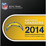 Turner - Perfect Timing 2014 San Diego Chargers Box Calendar (8051213)