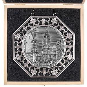 Städtemedaille Freiburg i. B. (Münster) in Ornamentrahmen