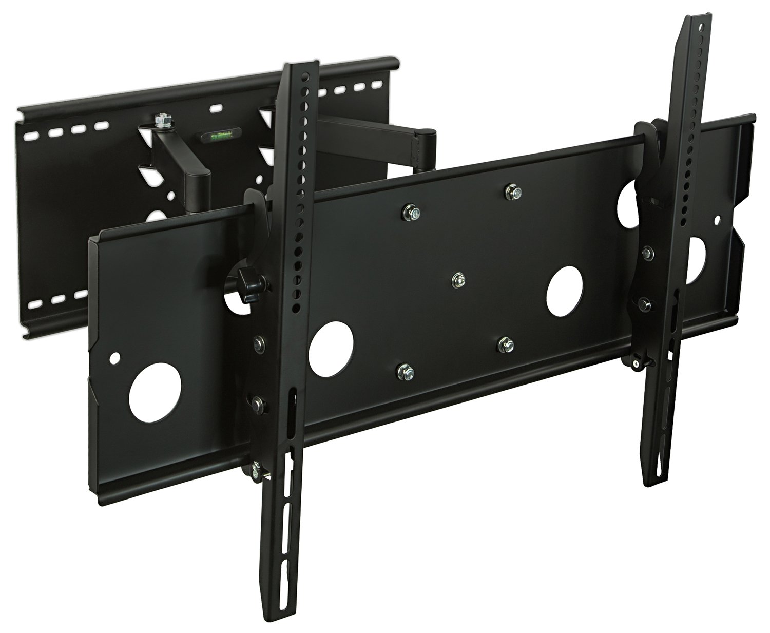 heavy duty tv wall mount articulating 42 70 inch flat screen holder rack bracket ebay. Black Bedroom Furniture Sets. Home Design Ideas