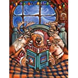 Reindeer Flight School 300pc Jigsaw Puzzle by Gloria West