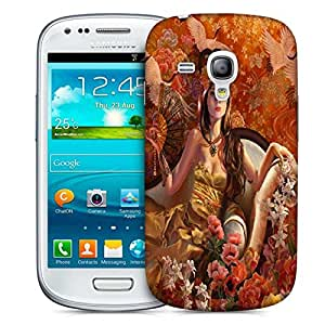 Snoogg Fantasy Girls Printed Protective Phone Back Case Cover For Samsung S3 Mini / S III Mini
