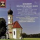 Schubert : Deutsche Messe D 872 - Messe D 167 - Salve Regina D 379 - Psaume 23 D 706...