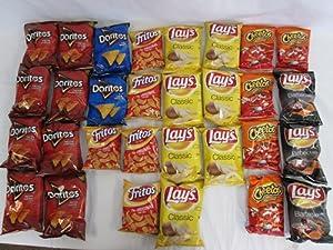 Amazon.com: Classic Mix Variety Chips, Cheetos, Fritos, Lays, Lays ...