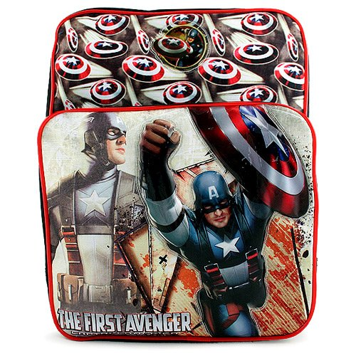 The First Avenger- Captain America Dual Compartment Backpack