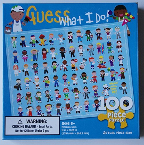 Guess What I Do 100 Piece Jigsaw Puzzle - 1