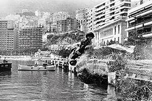 Grand Prix Formula 1 One Race Care Crash Monaco Monte Carlo 24x36 Poster
