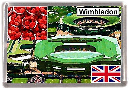 Kühlschrankmagnet Wimbledon Geschenk Tourist Souvenir London