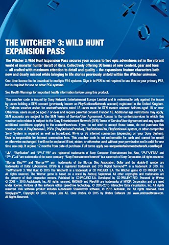 The Witcher 3: Wild Hunt Expansion Pass Online Code galerija