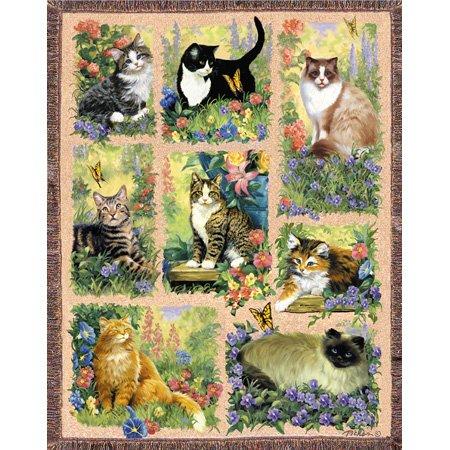 Cheap SunsOut Linda Picken Cat Afghan Mini 100pc Jigsaw Puzzle (B001YK3LWO)