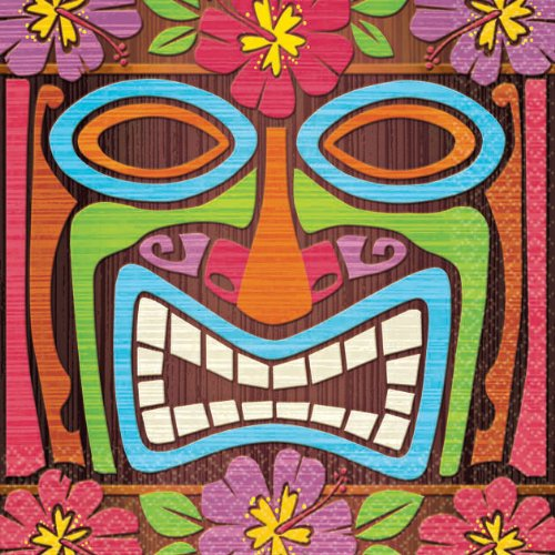 Tiki Time Beverage Napkins (16ct) N/A (16 per package)