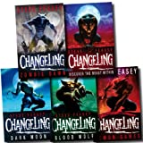 Steve Feasey Changeling Collection Steve Feasey 5 Books Set (Zombie Dawn, Demon Games, Blood Wolf, Dark Moon, Changeling) (Changeling Collection)
