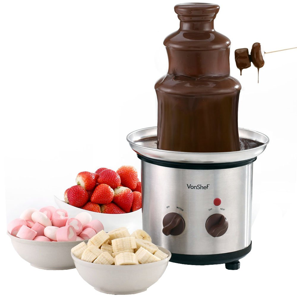 chocolate fountain 100 Cheap Thoughtful Gift Ideas For Her Under £20