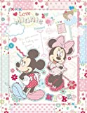 (BK) Minnie mail [black mount] FUJICOLOR album free Disney character F-10B 11 ~ 20 page character Pink 49 190 (japan import)