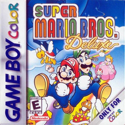 Super Mario Bros. Deluxe front-191278