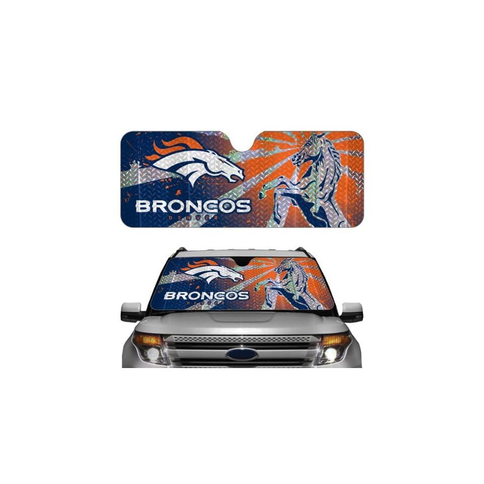 Denver Broncos Car Truck SUV Front Windshield Sunshade