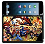 009ipad IRON-MAN SPIDERMAN HARD BACK CASE COVER FOR iPAD 2/3/4 DC COMICS MARVEL COMICS - 009ipad