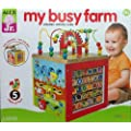 My Busy Farm Wooden Activity Cube