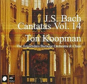 J.S. Bach : Cantatas, Vol. 14