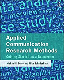 communication research methods This set of flashcards is designed to accompany wrench, thomas-maddox, mccroskey, and richmond's textbook quantitative research methods for commun.