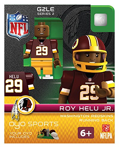 Roy Helu Jr OYO NFL Washington Redskins G2 Series 2 Mini Figure Limited Edition