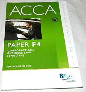 Acca revision f4 corporate law | Term paper Sample