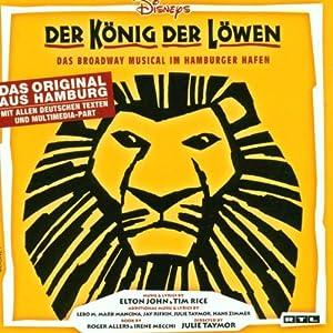 der koenig der loewen disney 39 s the lion king german. Black Bedroom Furniture Sets. Home Design Ideas